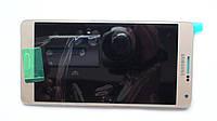 Дисплей с сенсором Samsung A700 Galaxy A7 Gold оригинал, GH97-16922F