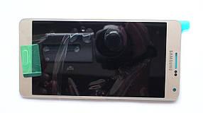 Дисплей с сенсором Samsung А700 Galaxy А7 Gold оригинал, GH97-16922F