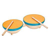 Деревянная игрушка Plan Тoys - Барабан двойной