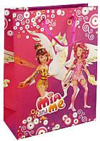 Пакет бумажный подарочный (18х24) KITE 2015 Mia and Me 265 (MM15-265K)