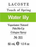 Парфюмерная композиция версия аромата Touch of Spring Lacoste для женщин 50 мл духи