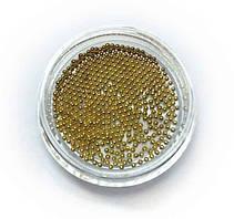 Металлические бульонки золото