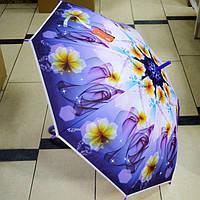 Зонт трость женский силиконовый, фото 1