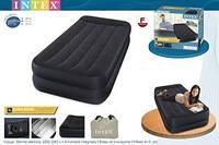 Надувная кровать Intex 64122, встроенный электронасос. Односпальная   99 х 191 х 42 см