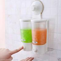 Дозатор для жидкого мыла Soap Dispenser double liquid