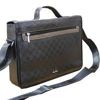 Глянцевая сумка мужская 540490 / Мужская сумка