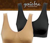 Бесшовный бюстгальтер Genie Bra Гении бра с вкладками (чашечками) для поддерживания груди (3шт. в упаковке)