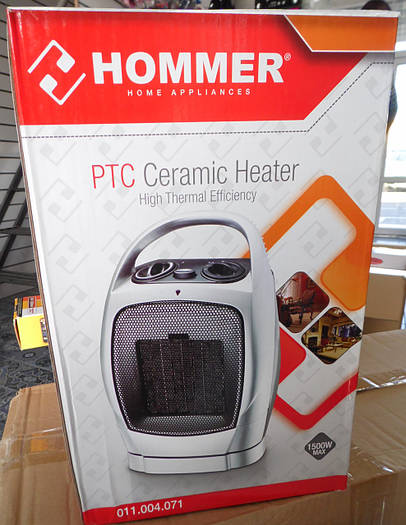 Тепловентилятор QUARTZ HEATER HOMMER PTC Ceramic