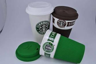 Термочашка керамическая Starbucks Eco Life