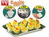 Приспособление формы формочки для варки яиц без скорлупы Eggies Эггиз, фото 3
