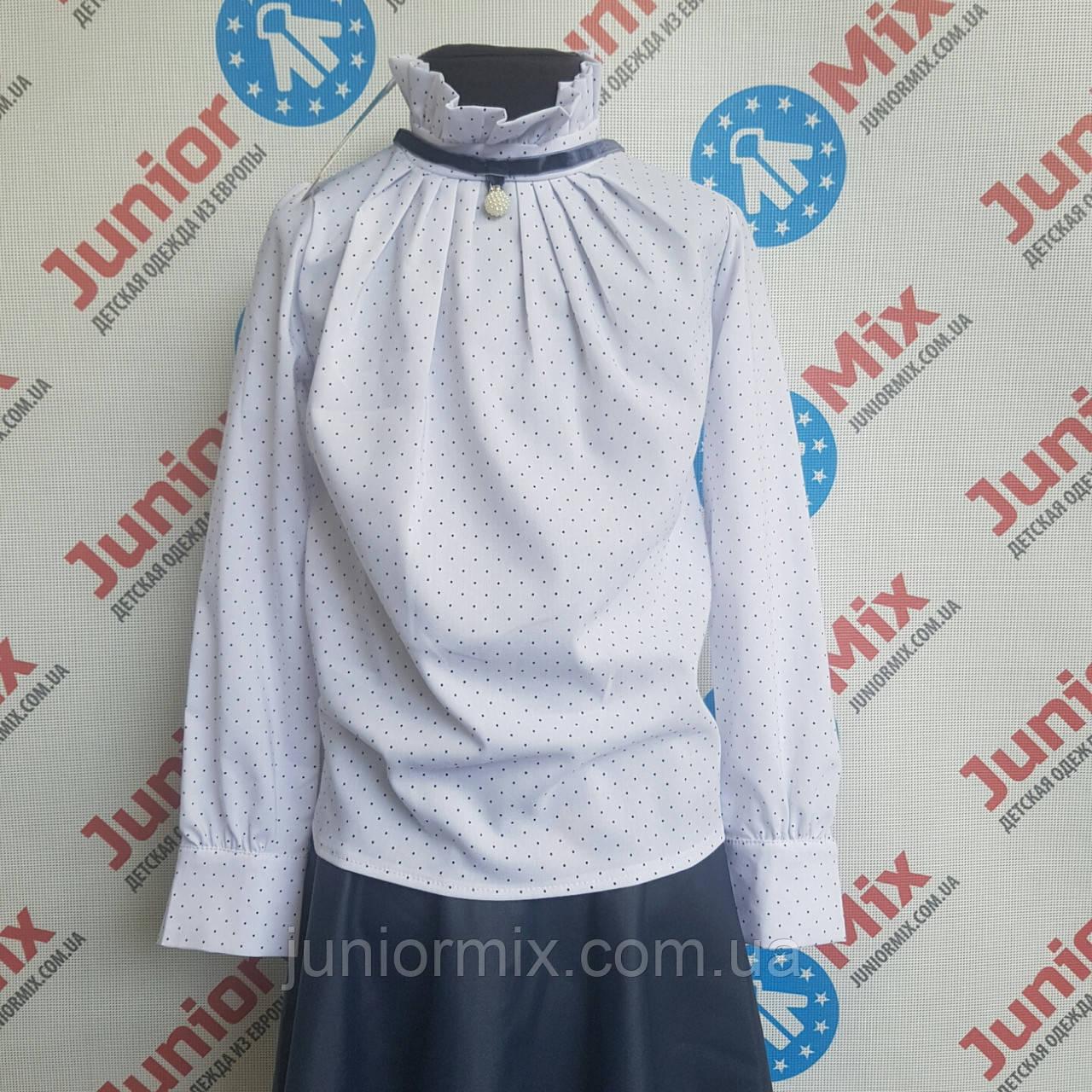 Блузка на девочку в мелкий горошек UMBO