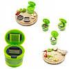 Измельчитель для чеснока чеснокодавка Kitchen&Home Garlic Chopper 2 насадки, фото 2