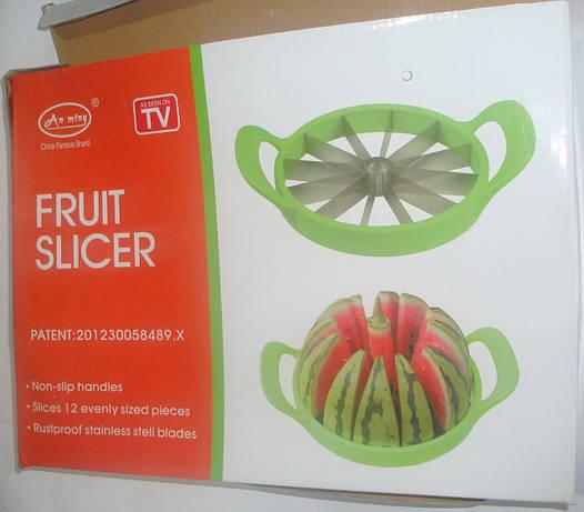 Нож Fruit Slicer As Seen on TV для нарезки арбуза и дыни 25см