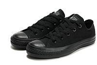 Кеды женские Converse All Star Low Black/Черные
