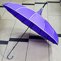 Зонт женский Японка фиолетовый