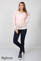 Джинсы-джеггинсы для беременных Pink из супер-стрейчевого материала, индиго, фото 1