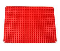 Силиконовый коврик пирамидка для выпечки и запекания мяса