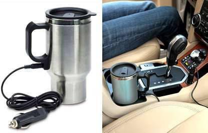 Электрическая термокружка для авто Electric Mug 14oz Электрик Муг