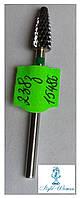 Твердосплавная фреза для фрезера, верхняя коррекция, лишний слой геля, акрила ТВС 2-3-8 зеленая