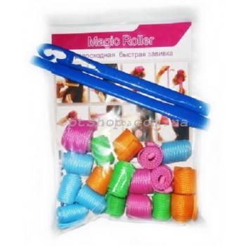 Волшебные бигуди Magic Roller (Меджик Роллер) круглые длинные 52 см и 23 см 18 штук