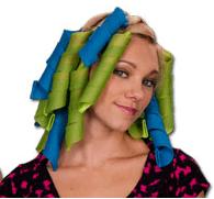 Волшебные спиральные бигуди Hair Wavz (Хейр Вейвз) для длинных волос 50 см 18 шт