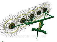 Грабли колесно-пальцевые «Солнышко» на 5 колес
