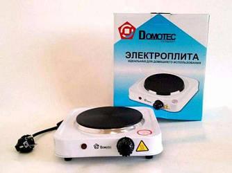 Электроплита плитка Domotec HP-100A 1000Вт