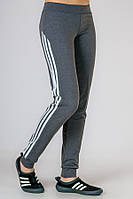 Спортивные брюки женские Фитнес (серые)