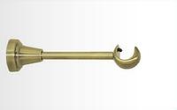 Держатель одинарный открытый для карниза 25 мм