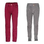 Котоновые, вельветовые брюки для девочек