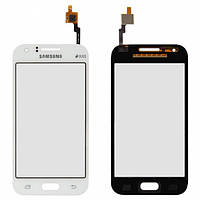 Сенсор (тачскрин) Samsung Galaxy J1 Duos J100H белый