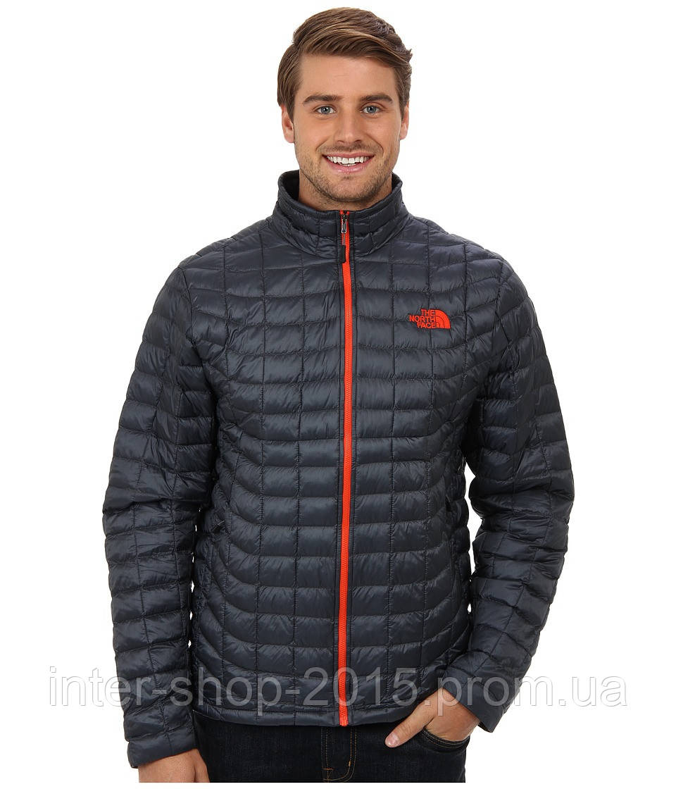 c0b232d38870 Мужская куртка The North Face THERMOBALL FULL ZIP JACKET TNF Black Red C762  - INTER SHOP в