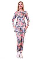 Женский спортивный костюм С-008 Розы, фото 1