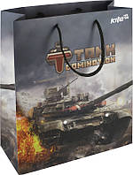 TD15-266K Пакет бумажный подарочный (26х32) KITE 2015 Tanks 266