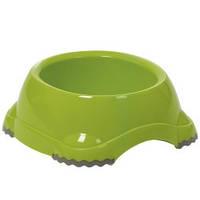 Миска для собак МОДЕРНА СМАРТИ №4 (Moderna) пластик,  2,2 л, d-23 см (цвет киви)