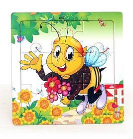 Рамка-пазл Пчелка