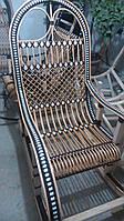 """Кресло-качалка """"Ротанг"""" коричневая №2"""