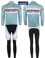 ДЕМИСЕЗОННАЯ  Велоформа Bianchi 2011 bib , фото 1
