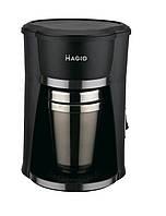 Кофеварка MAGIO МG-347, съемная термокружка, объем 320мл, мощность 420Вт