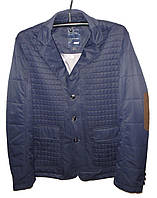 Куртка-пиджак мужская лаки на локтях (деми)