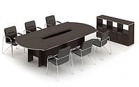 Конференц стол Ньюмен + тумба