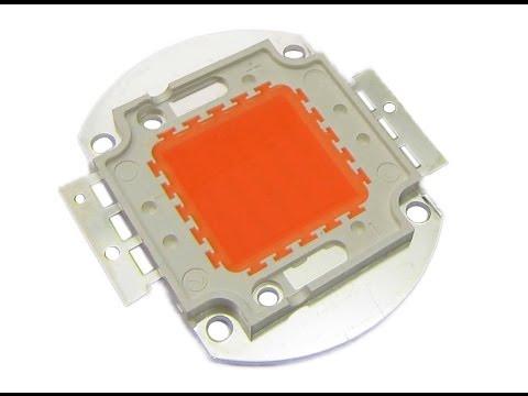 Светодиодный чип фито led grow 100w full spectrum полный фитоспектр для роста растений