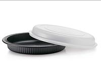 """Блюдо «Элегантность» (2,4 л) в цвете """"гламурный чёрный"""",Tupperware"""
