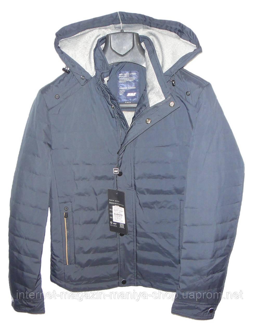 Куртка мужская DJ6690 с капюшоном (деми)