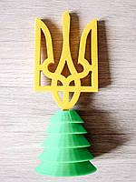 """Статуэтка """"Герб Украины (Трезубец - Тризуб)"""", 3D печать"""