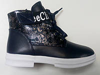 Детские демисезонные ботинки для девочки Clibee 32, 33, 36, 37р