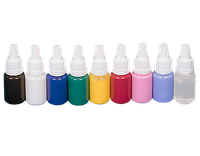 Набор красок для аэрографии на ногтях JVR Colors