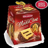 Панеттон с шоколадом Balocco Maxi Ciok il Panettone, 750 г.