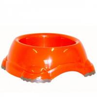 Миска для собак МОДЕРНА СМАРТИ №2 (Moderna) пластик, 735мл, d-16 см (цвет оранж)