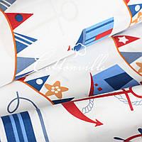 ✁ Отрезы хлопковой ткани Морские каникулы 100х80 см, фото 1